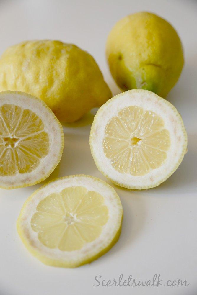 keltaiset sitruunat