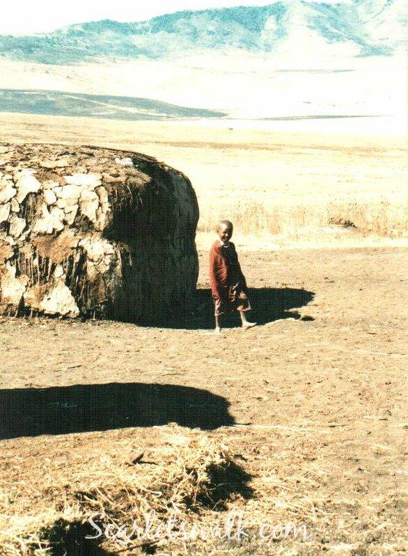 Tanzania masai child
