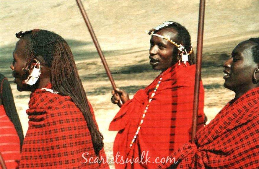 Tanzania masai walk