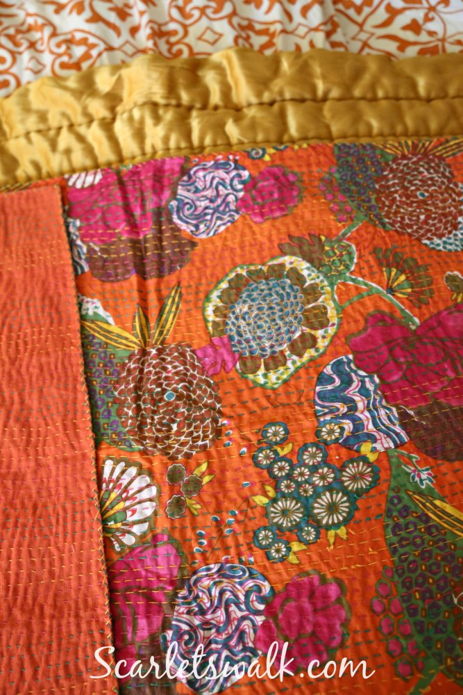 kantha quilt india bhagyoday fashions
