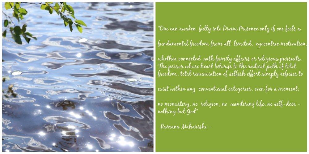 life Ramana Maharishi