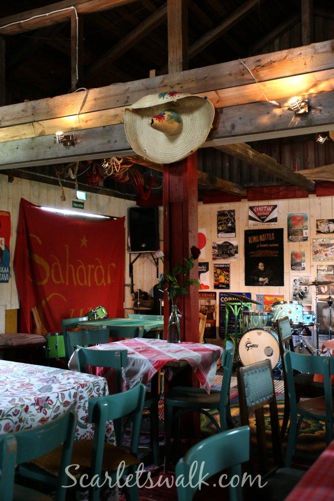 Kahvila Saha sali
