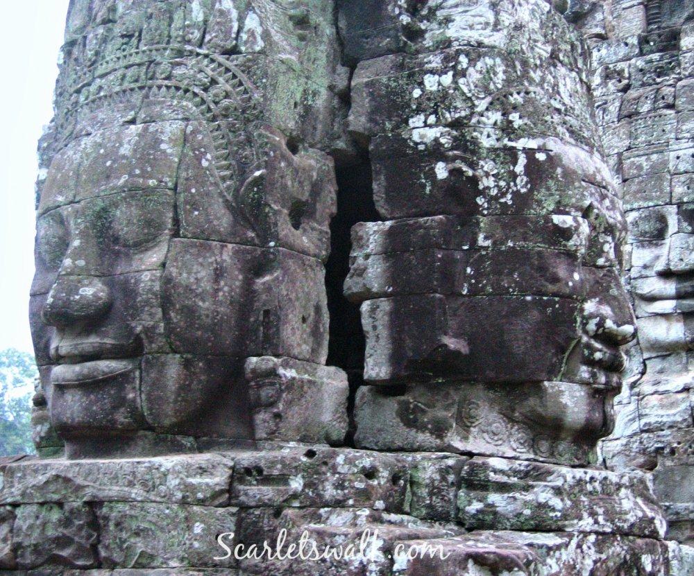 Kambodja bayon temppeli