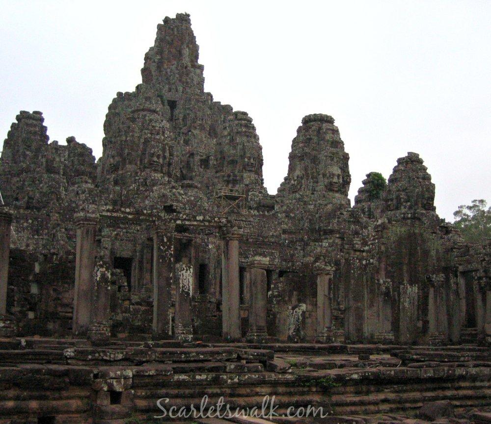 Kambodja temppeli bayon