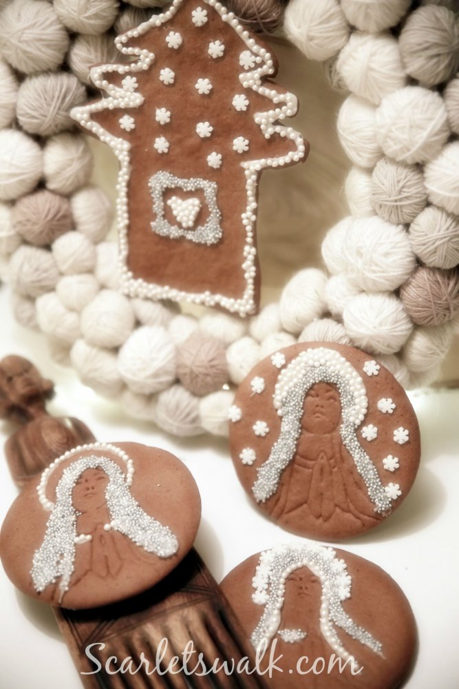 gingerbread holy mary