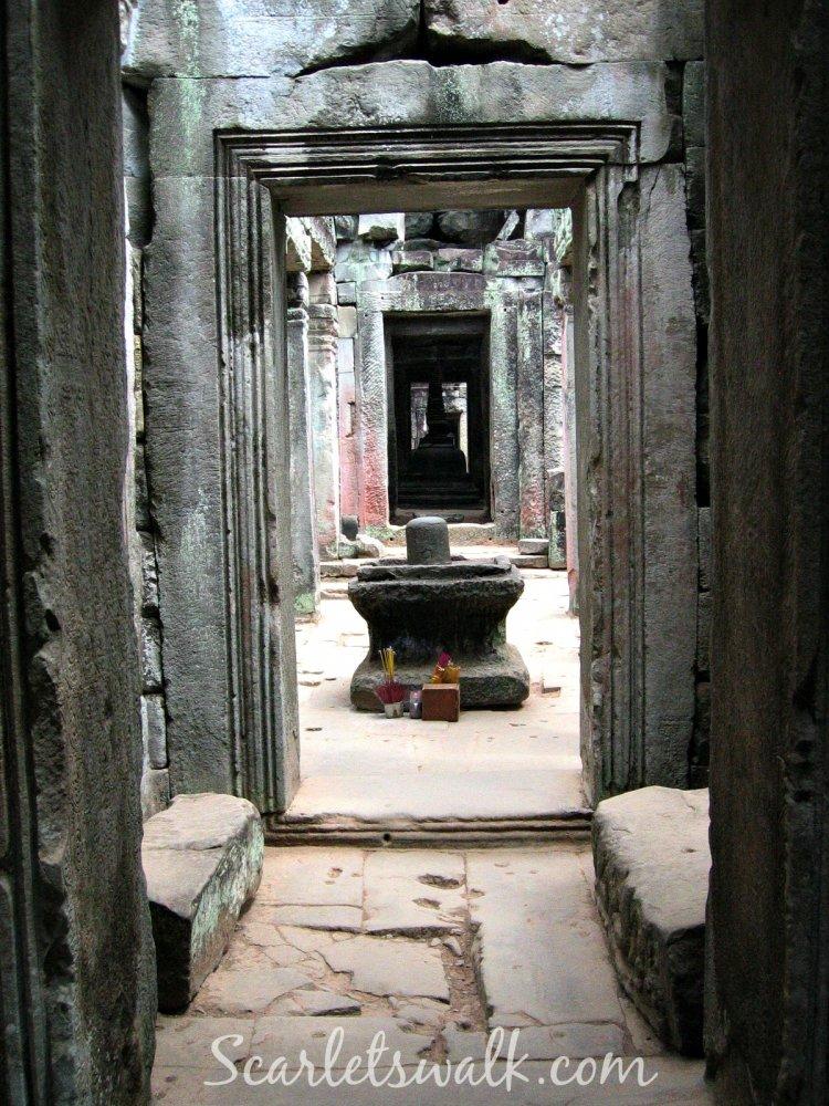 kambodja angkor wat temppelikuja