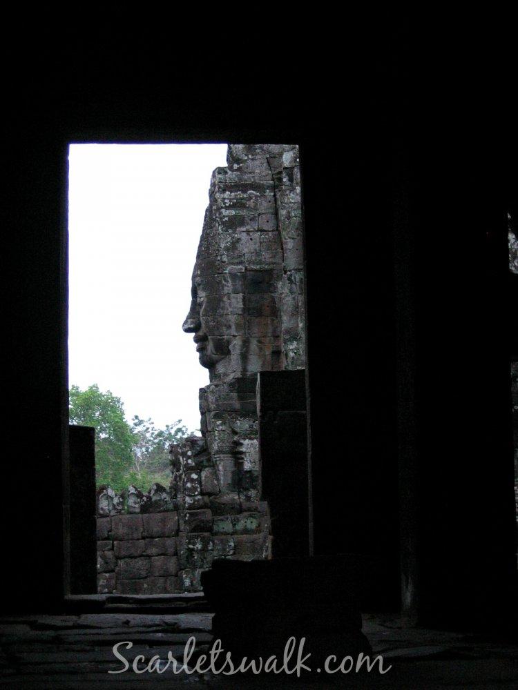 kambodja bayon profiili