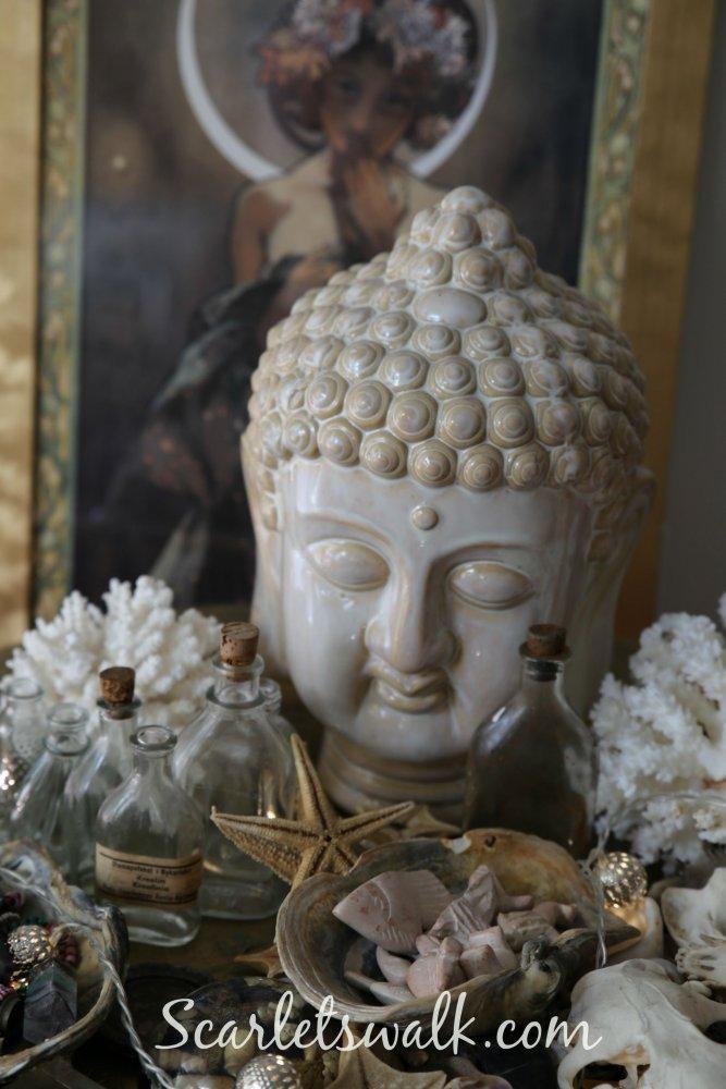 mucha buddha om