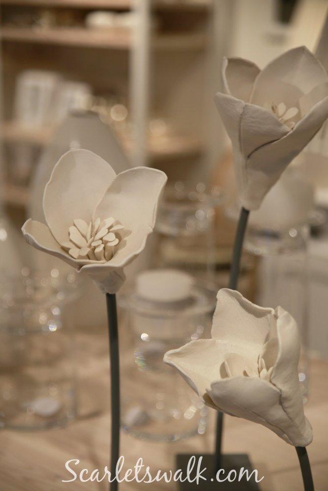 pentik keramiikka kukat