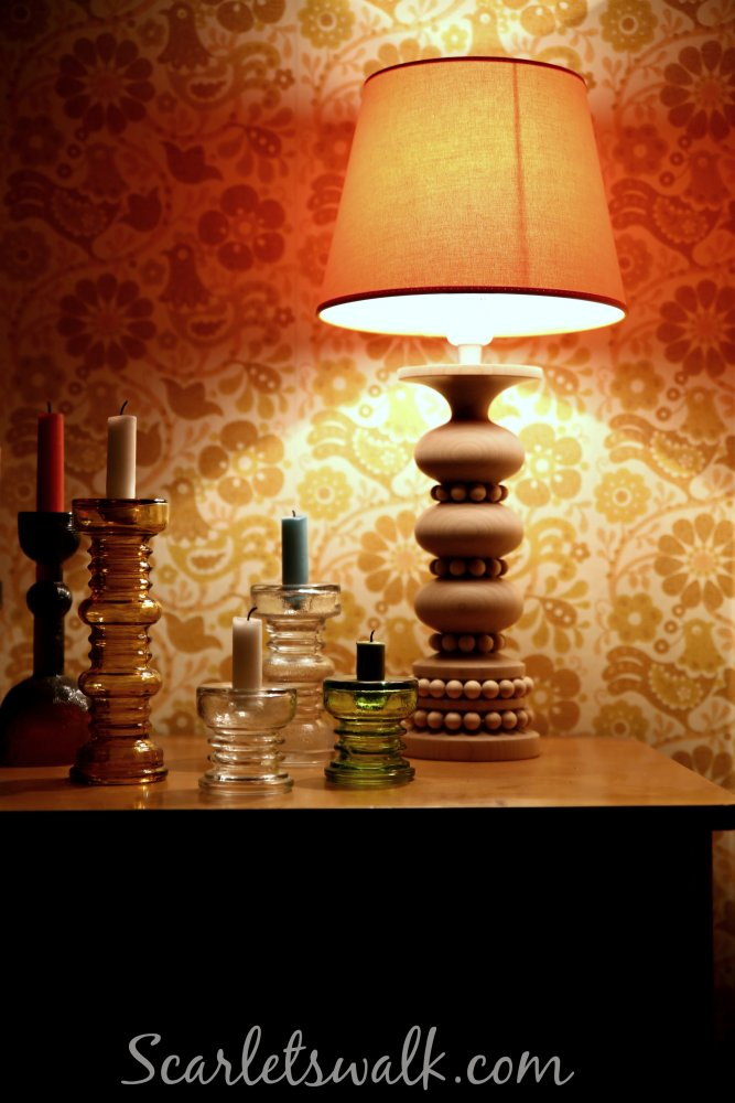 sisustus aarikka kynttilajalat