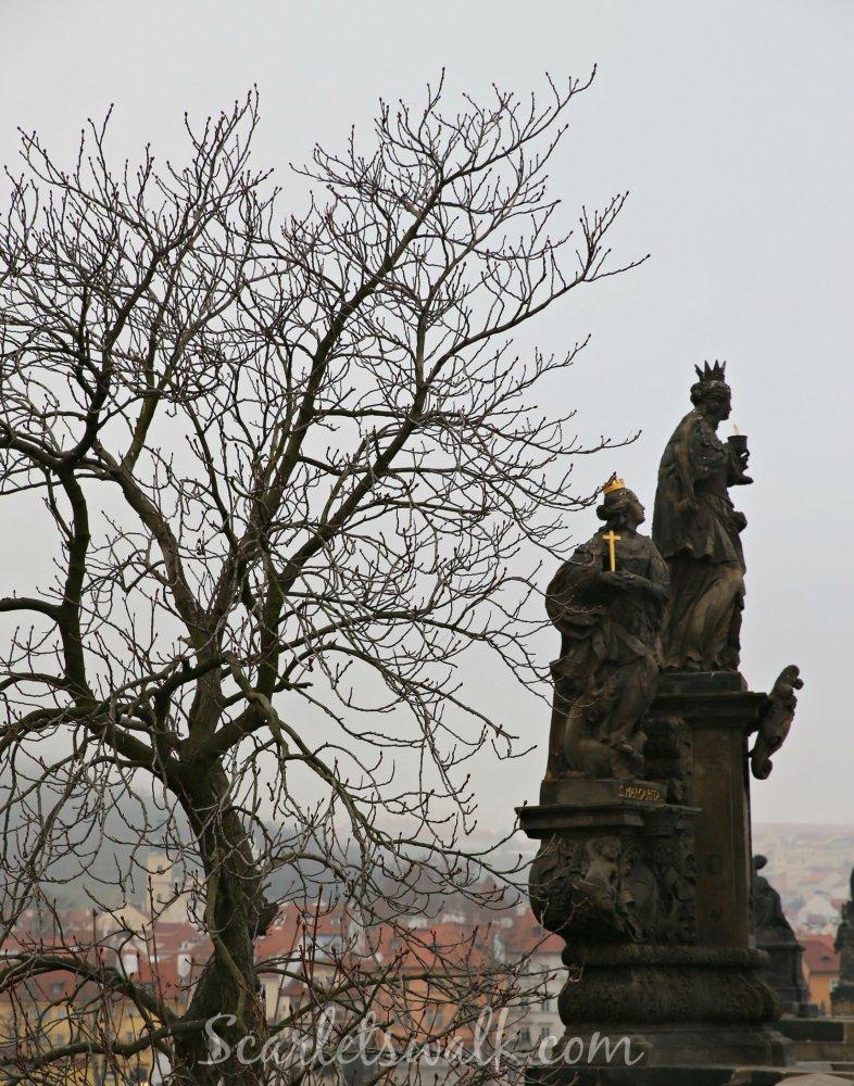 Praha Kaarlen silta patsaat