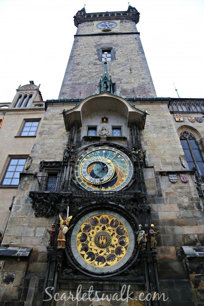 Praha horoskooppikello