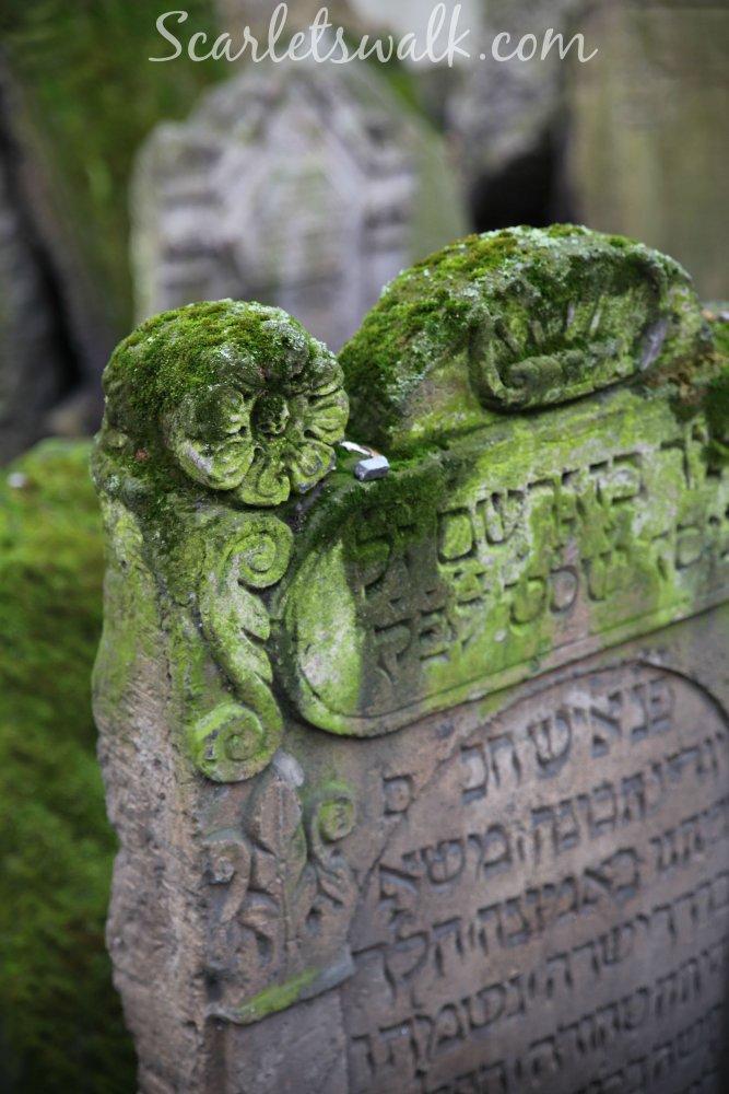 Praha vanha hautausmaa juutlaiset