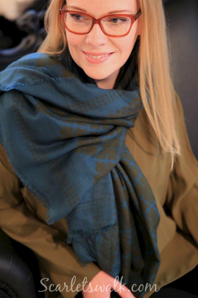skona clara by malene birger scarf