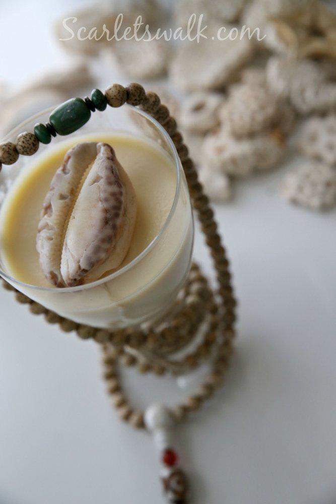 vanilja pannacotta