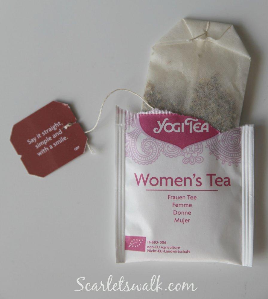 women´s tea yogi