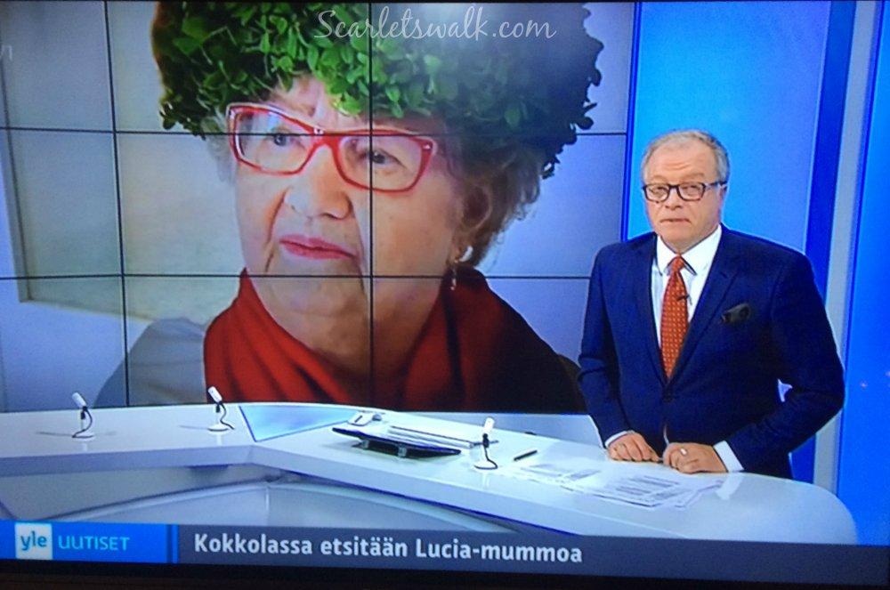 Yle uutiset Kokkolan Lucia-mummo