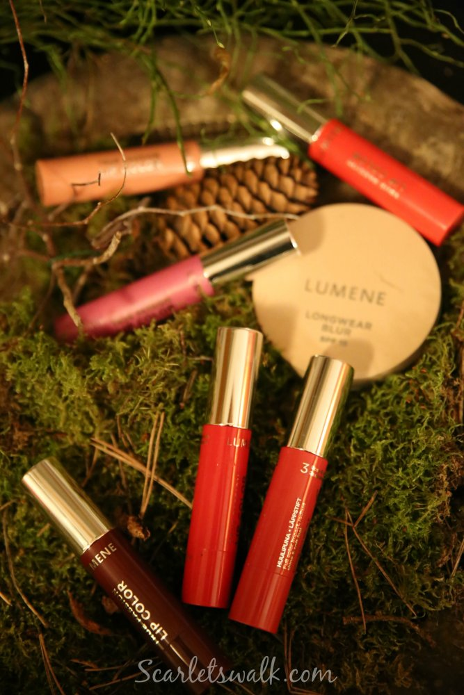 Lumene lip color