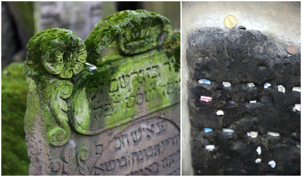 juutalainen hautausmaa praha kollaasi