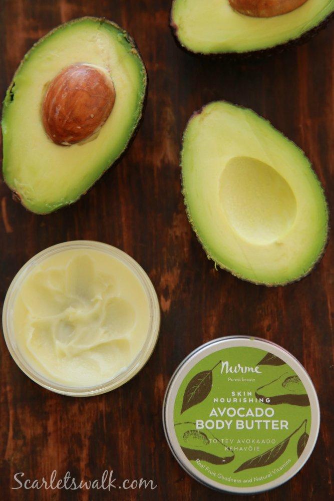 Nurme avocado body butter