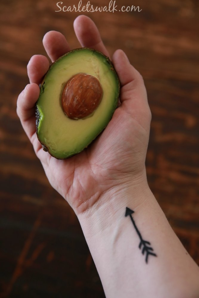 avocado tattoo