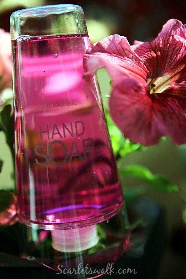 dermosil hand soap pink