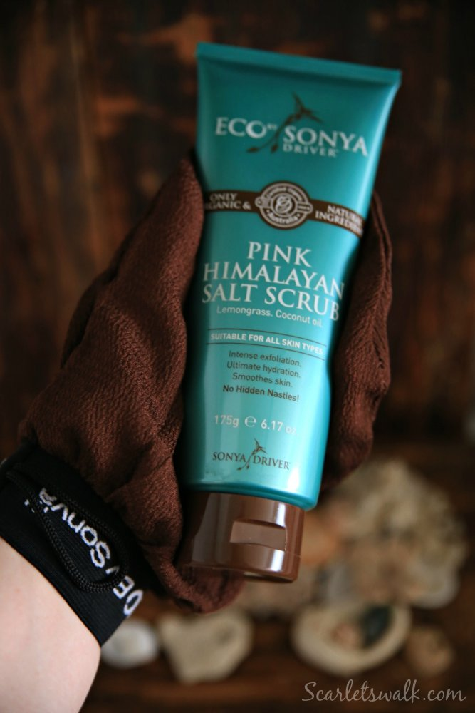 Eco Sonya pink himalayan salt scrub