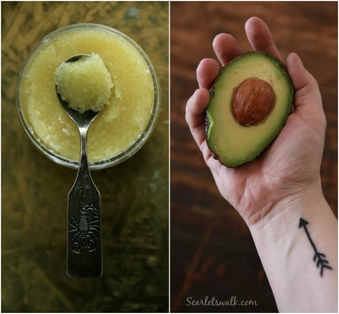 Nurme avocado sokerikuorinta